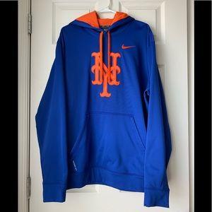 Like new! Nike Mets MLB hoodie